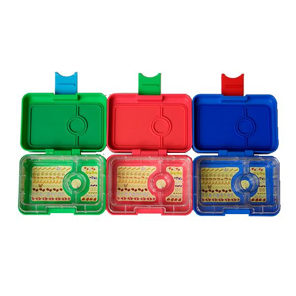 Yumbox MiniSnack - 3 Colours