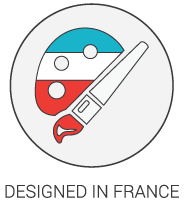 Product Icon - Designed in France