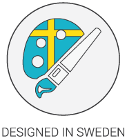 Product Icon - Designed in Sweden