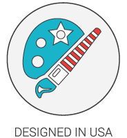 Product Icon - Designed in USA