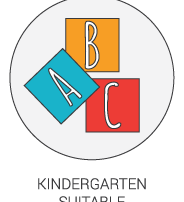 Product Icon - Kindergarten Suitable