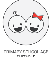 Product Icon - Primary School Age Suitable