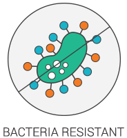 Product Icon - Bacteria Resistant