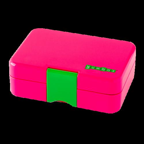 Yumbox MiniSnack - Cherie Pink - Closed
