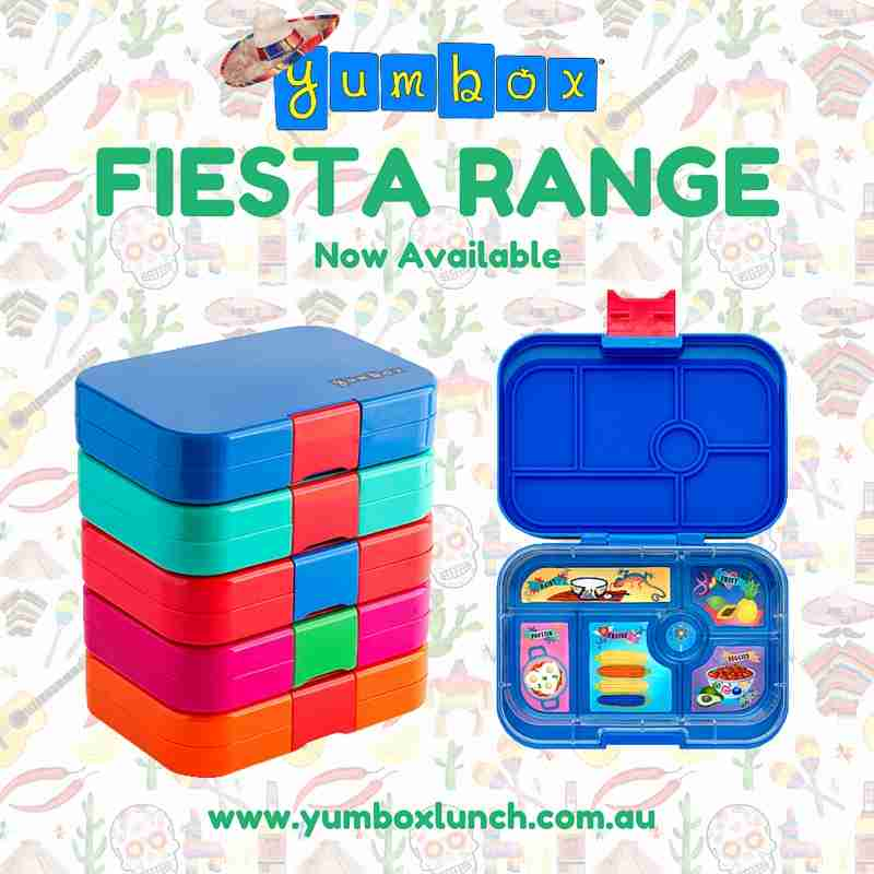 Yumbox Fiesta Range - Out Now