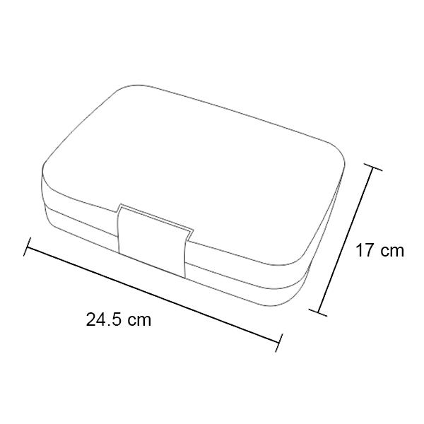 Yumbox Tapas - Dimensions