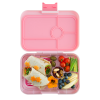 Yumbox Tapas - Amalfi Pink - Open With Food