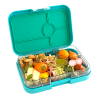 Yumbox Tapas - Antibes Blue - Open With Food