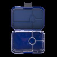 Yumbox Tapas - Portofino Blue - Open Clear Tray