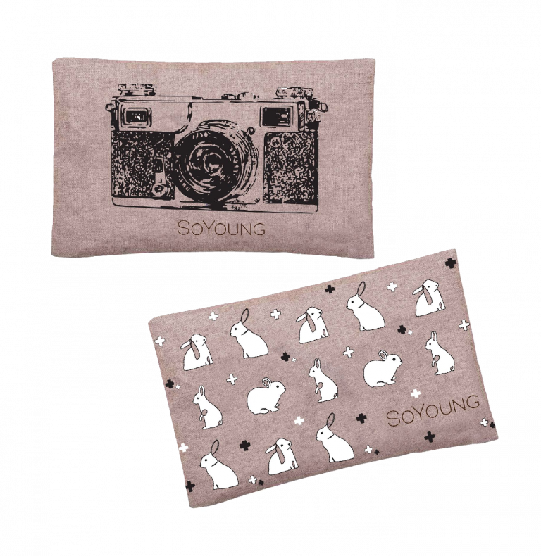 SoYoung Ice Pack - Black Camera and Bunny Tile