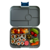 Yumbox Tapas - Flat Iron Tapas - 5 Compartment - Open - Filled