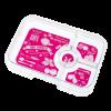 Yumbox Tapas - 5C Tray - Pink Botanical