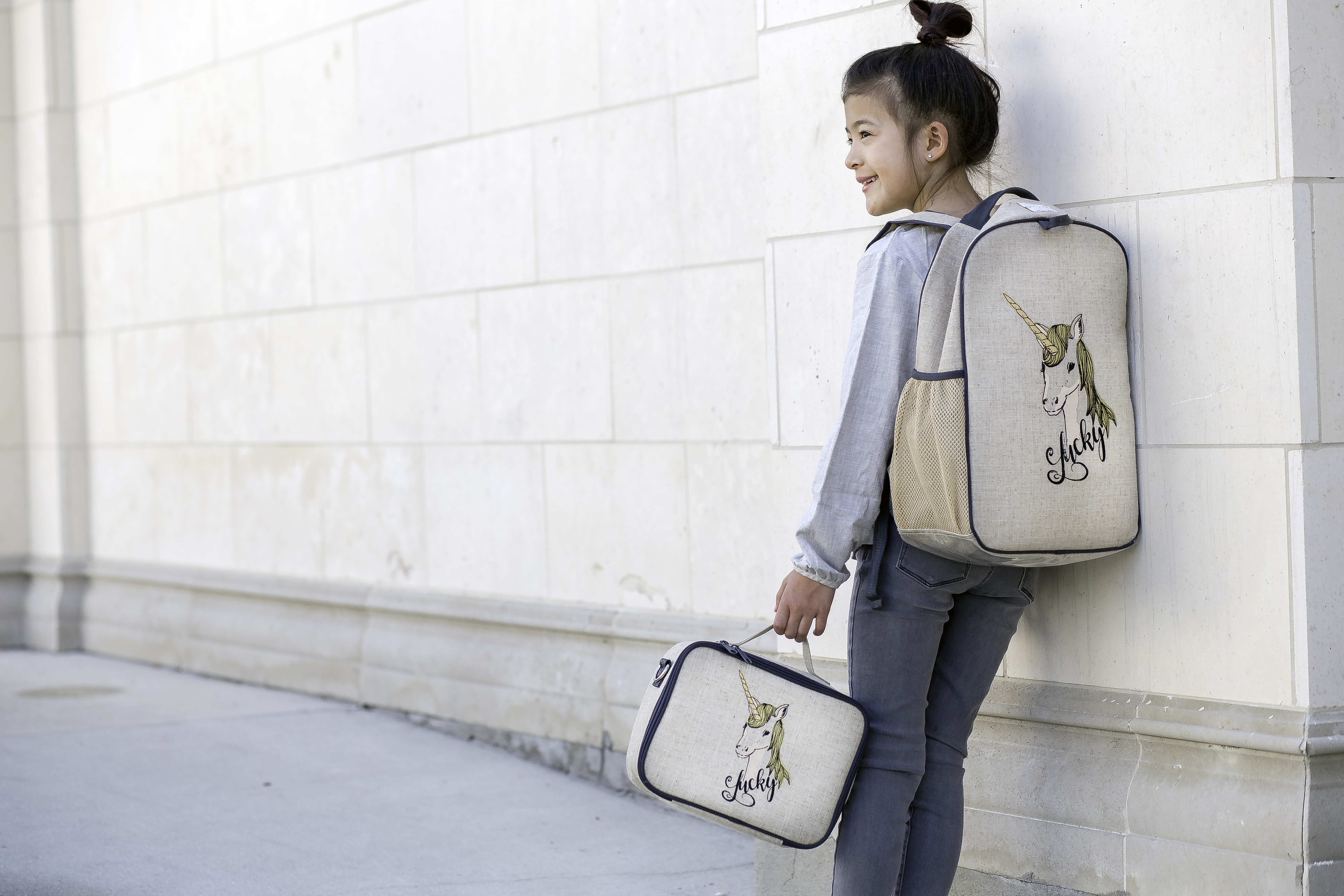 SoYoung - Grade School Backpack - Lucky Unicorn - Lifestyle