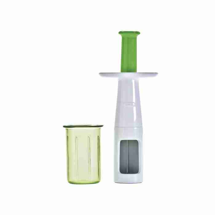 OXO Grape and Tomato Cutter - Lid Off