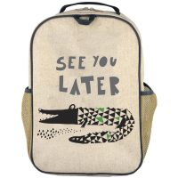 SoYoung - Grade School Backpack - Wee Gallery Alligator