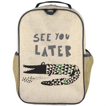 SoYoung - Grade School Backpack - Wee Gallery Alligator