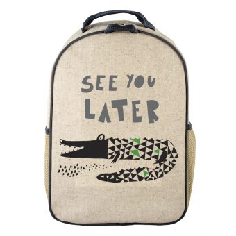 SoYoung - Toddler Backpack - Wee Gallery Alligator