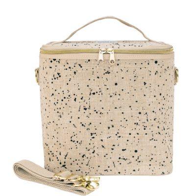 The Modern Collection - Linen Splatter Poche