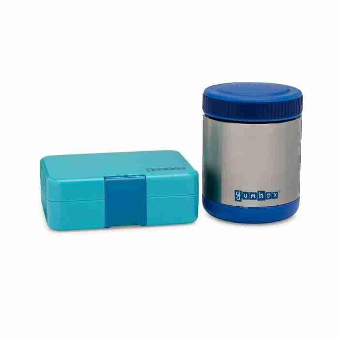 Yumbox Zuppa and MiniSnack - Neptune Blue