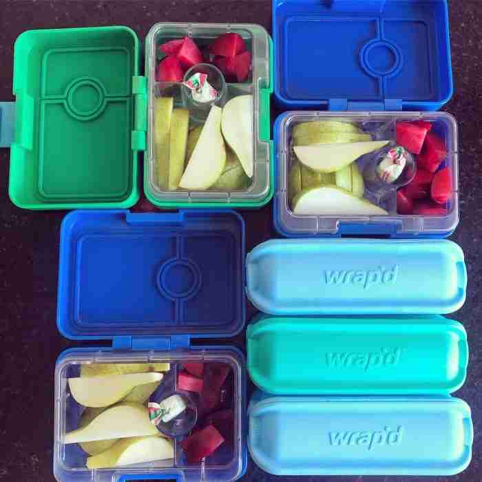 Yumbox and Wrapd - Lifestyle