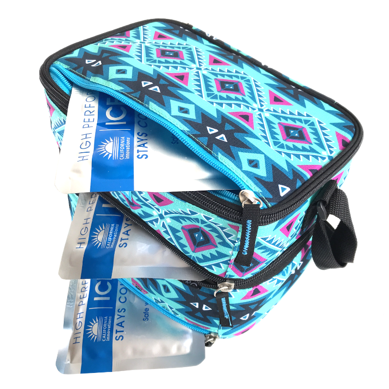 Arctic Zone Lunch Pack Double - Aztec - Open