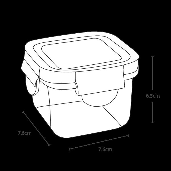 Wean Green Snack Cube - Vector