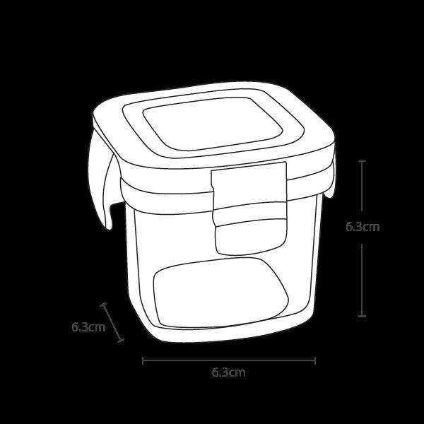 Wean Green Wean Cube - Vector