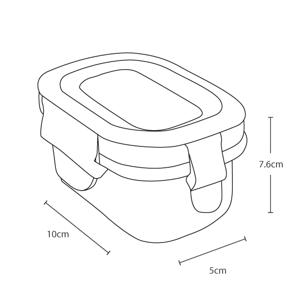 Wean Green Wean Tub - Vector