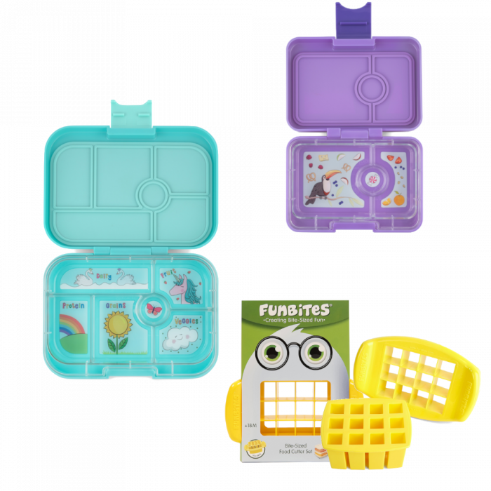 Bundle - Yumbox Original - Aqua