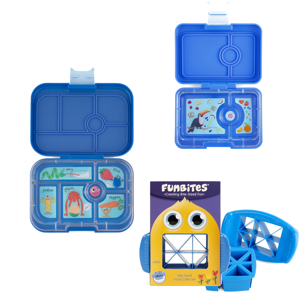 Bundle - Yumbox Original - Blue