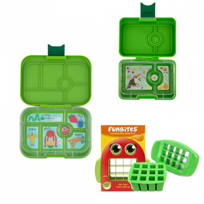 Bundle - Yumbox Original - Green