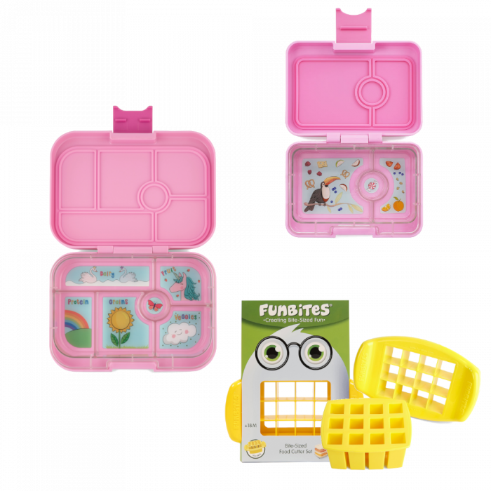 Bundle - Yumbox Original - Pink