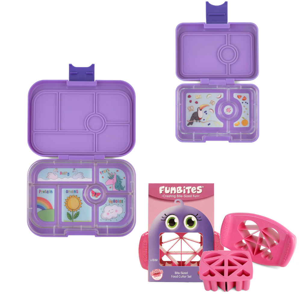 Bundle - Yumbox Original - Purple