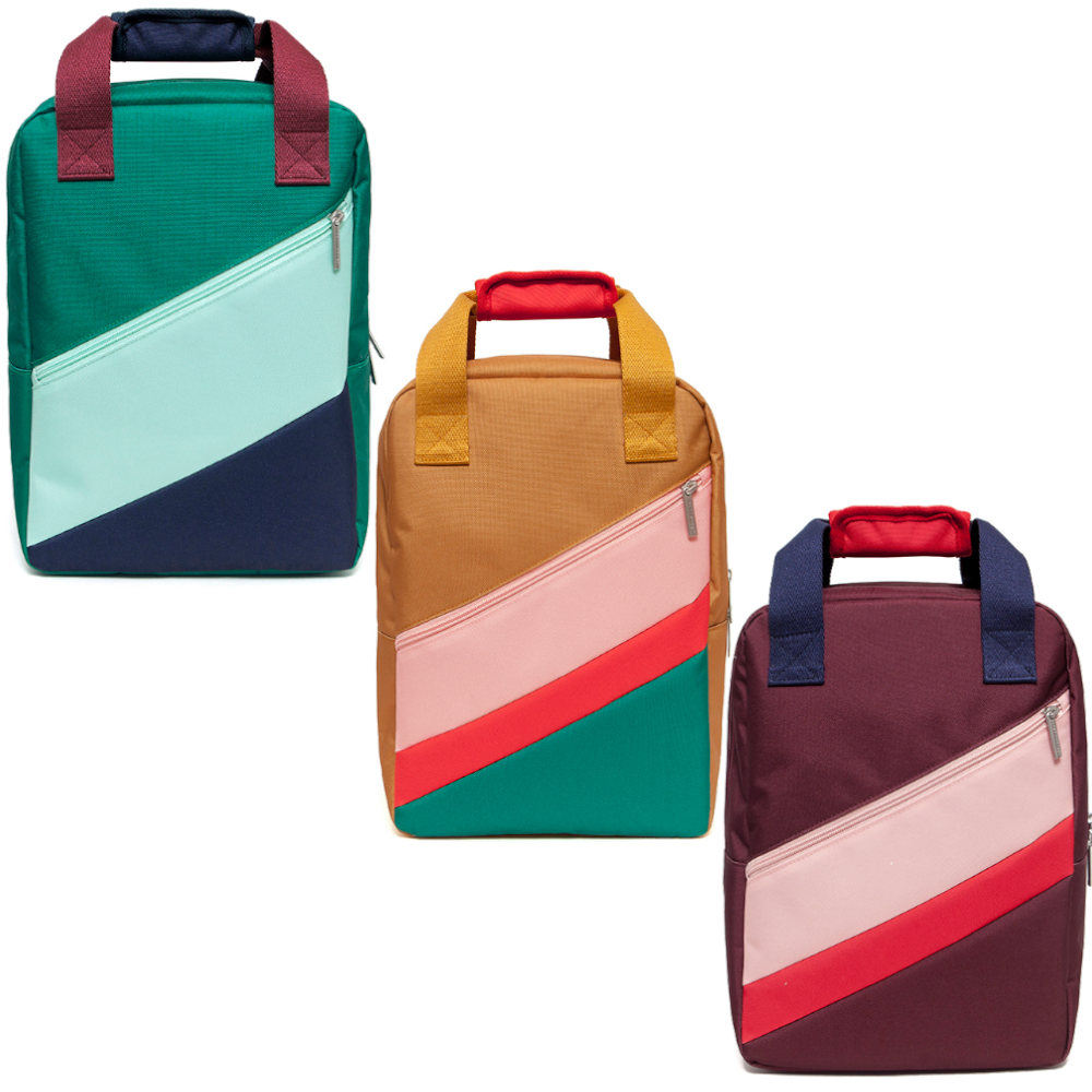 Petit Monkey - Block Backpack - Stacked
