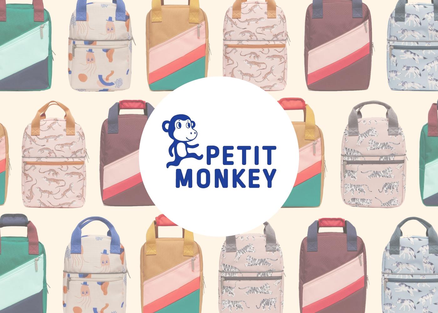 Petit Monkey - Banner