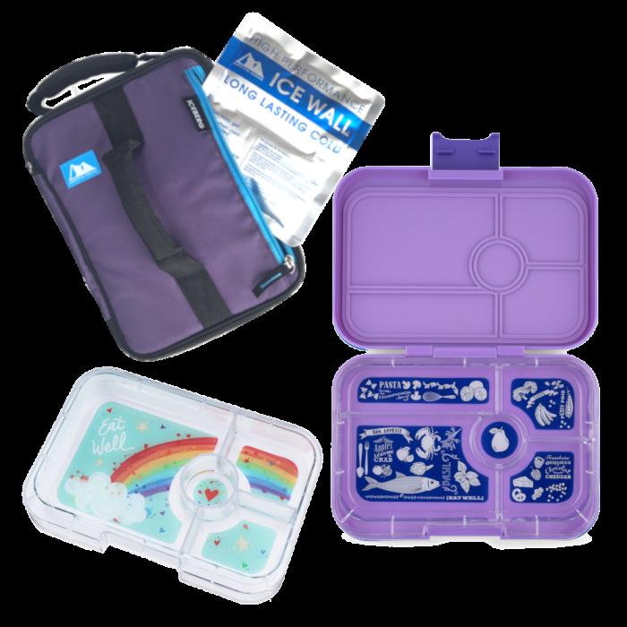 Bundle - Large Lunch - Dreamy Purple