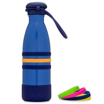 Yumbox - Aqua Insulated Drink Bottle - Ocean Blue