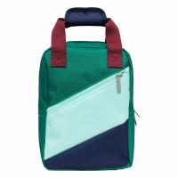 Petit Monkey Block Backpack - Cadmium Green