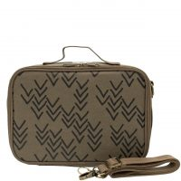 SoYoung - Lunchbox - Olive Paper Chevron