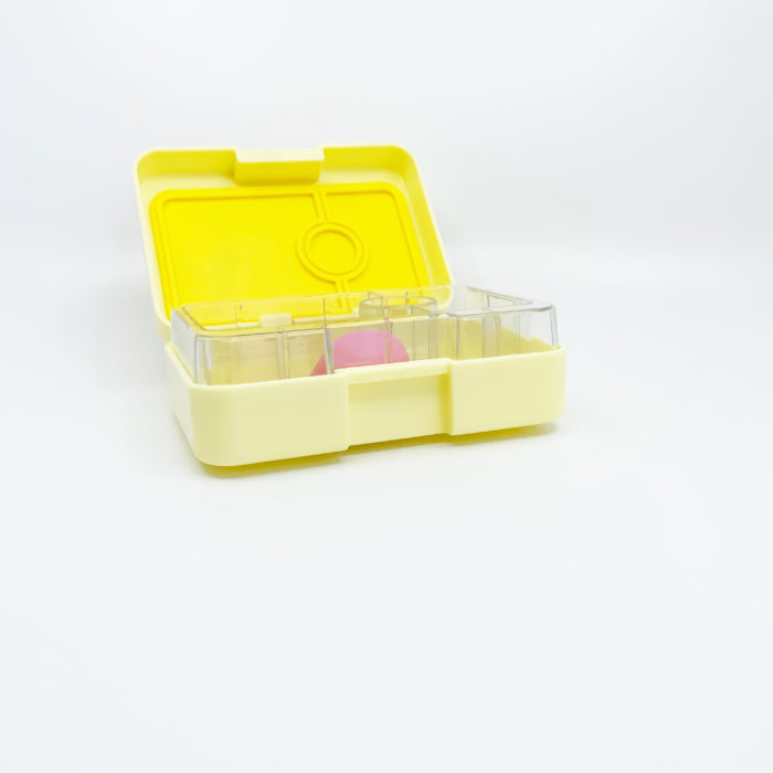 Yumbox - Snack Box and I Can Spoon - Yellow