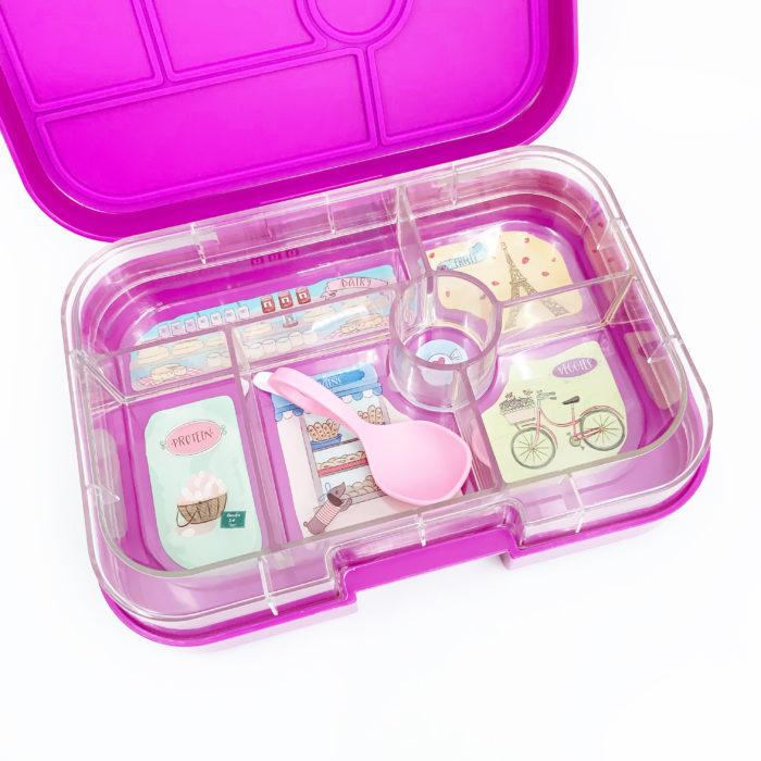 Yumbox - Original Pink and I Can Spoon - Princess Pink