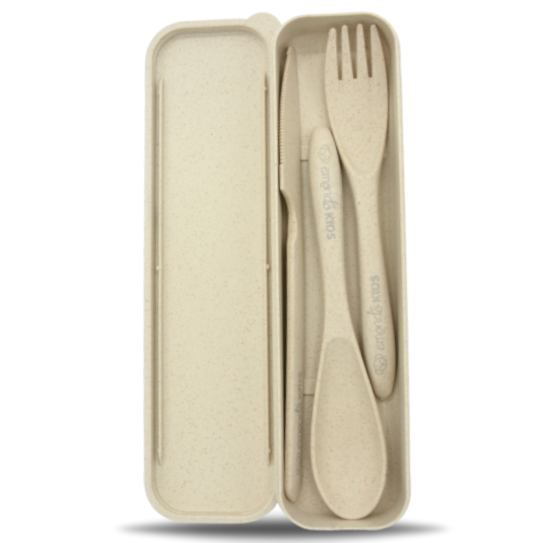 Eco Cutlery Set - Oatmeal