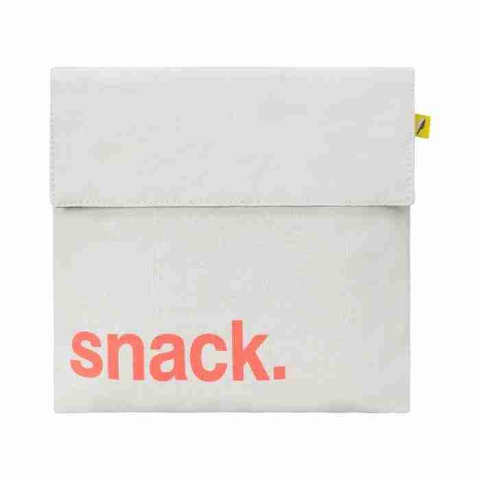 Fluf - Flip Snack Sack - Snack Orange