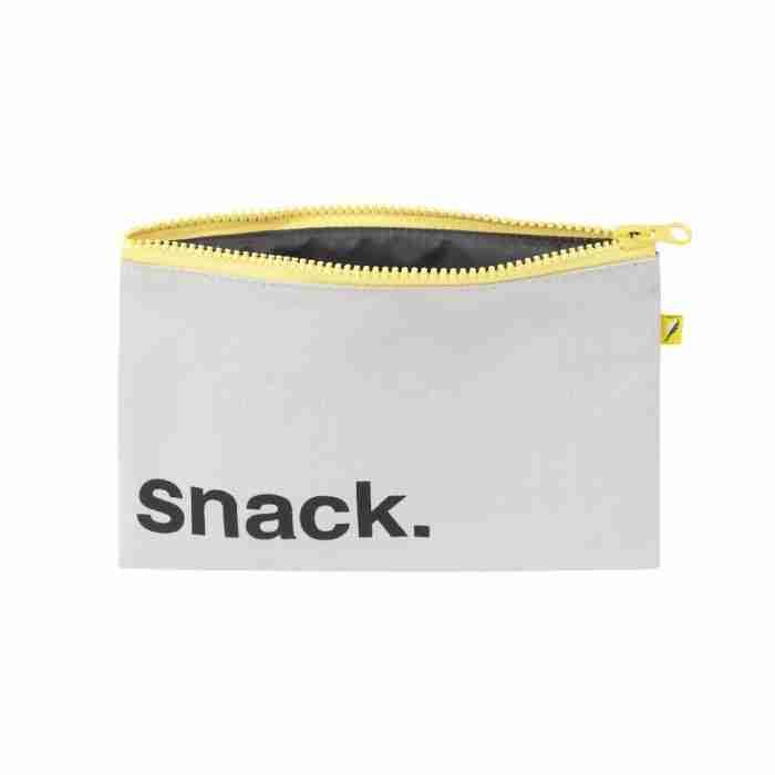 Fluf - Zip Snack Sack - Black Snack