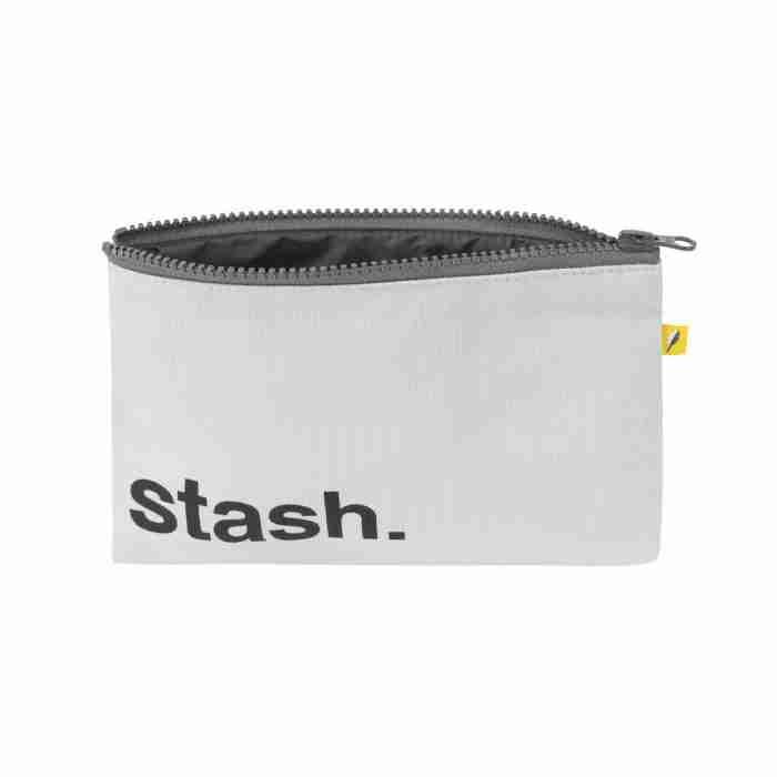 Fluf - Zip Snack Sack - Black Stash