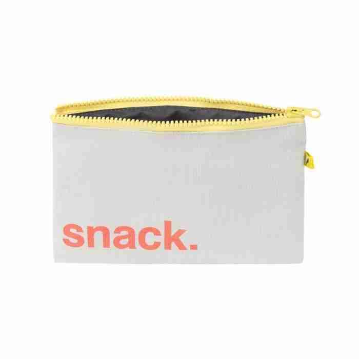 Fluf - Zip Snack Sack - Orange Snack