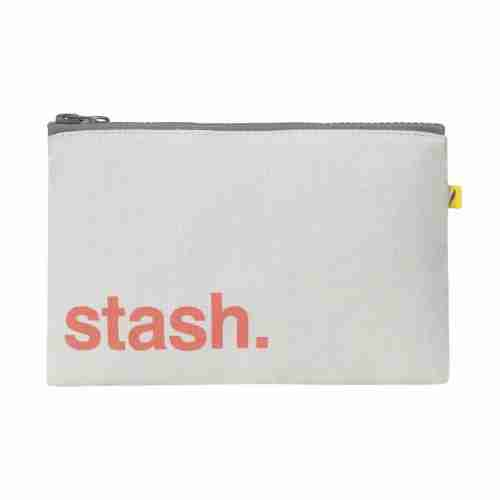 Fluf - Zip Snack Sack - Orange Stash