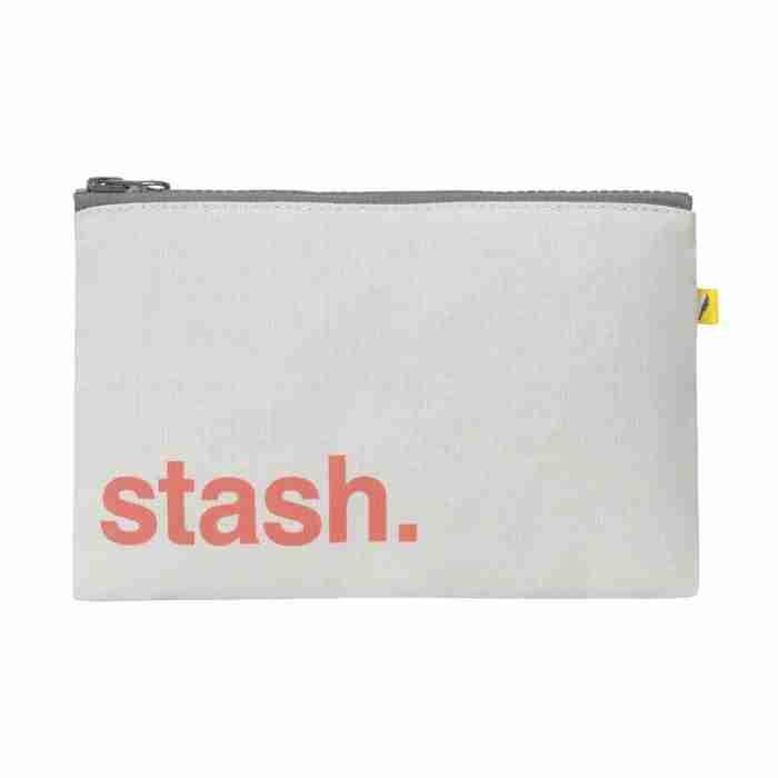 Fluf - Zip Snack Sack - Orange Stash