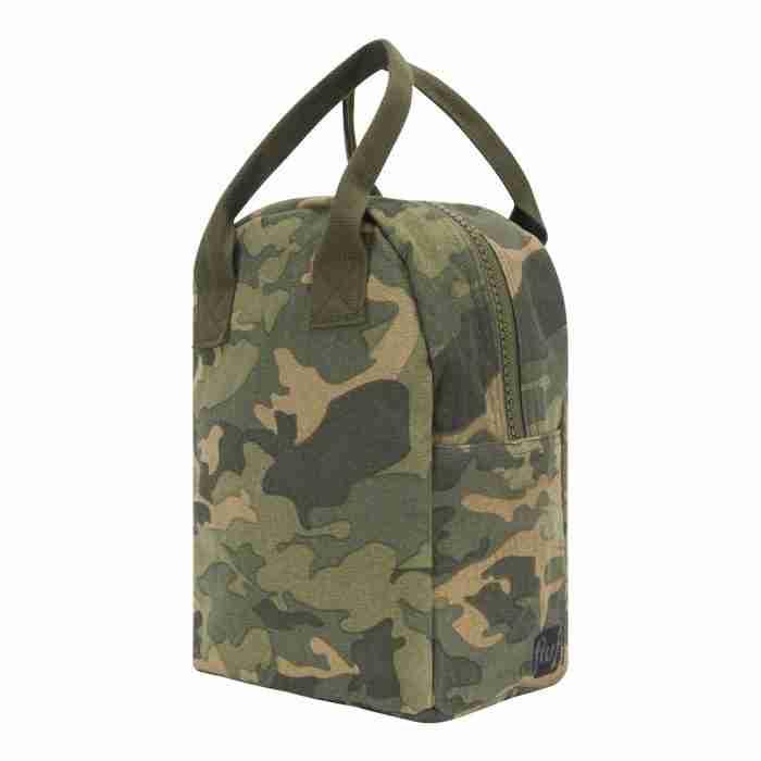 Fluf - Zipper Lunch Bag - Camo