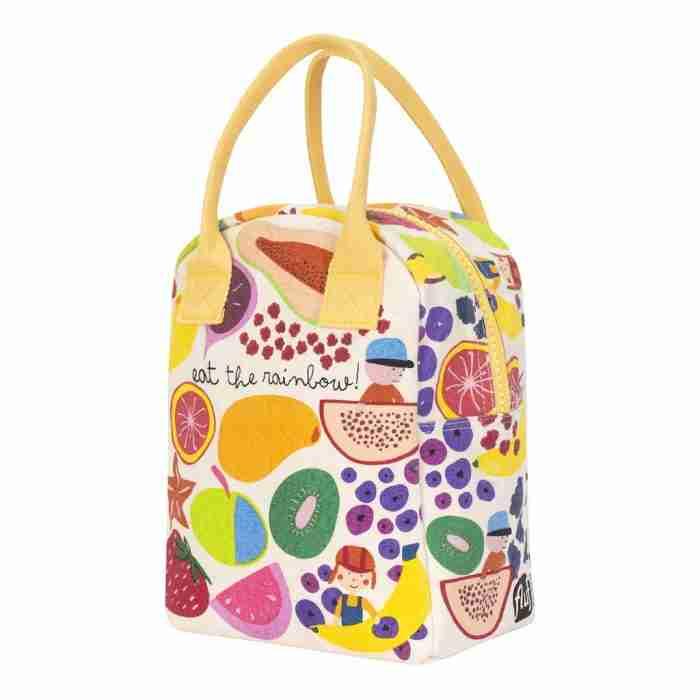 Fluf - Zipper Lunch Bag - Eat the Rainbow